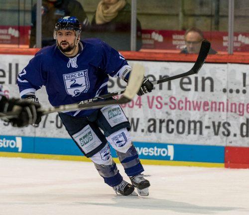 Will mit seiner Mannschaft am Freitag gegen Zweibrücken einen Heimsieg einfahren – Fire Wings Stürmer Mike Soccio.